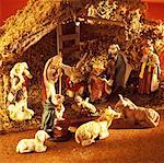 Nativity statues Stock Photo - Premium Royalty-Free, Artist: IIC, Code: 627-00859462