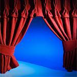 A theatre's curtain Stock Photo - Premium Royalty-Free, Artist: Mark Peter Drolet, Code: 627-00862722