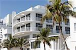 Exterior of Building, South Miami Beach, Miami, Florida, USA    Stock Photo - Premium Rights-Managed, Artist: Jean-Yves Bruel, Code: 700-00865455