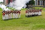 Fort York Guard Firing Rifles, Historic Fort York, Toronto, Ontario, Canada    Stock Photo - Premium Rights-Managed, Artist: Rommel, Code: 700-00865921