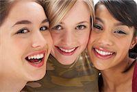 Portrait of Girls    Stock Photo - Premium Royalty-Freenull, Code: 600-00866263