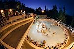 Banff Sulphur Mountain Hot Pool, Banff National Park, Banff, Alberta, Canada    Stock Photo - Premium Rights-Managed, Artist: Alec Pytlowany, Code: 700-00866929