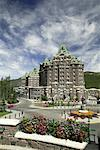 Banff Springs Hotel, Banff National Park, Banff, Alberta, Canada    Stock Photo - Premium Rights-Managed, Artist: Alec Pytlowany, Code: 700-00866934