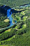 Banff Springs Hotel Golf Course, Banff National Park, Banff, Alberta, Canada    Stock Photo - Premium Rights-Managed, Artist: Alec Pytlowany, Code: 700-00866939