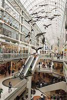 shopping mall - Eaton Centre, Toronto, Canada    Stock Photo - Premium Rights-Managednull, Code: 700-00897267