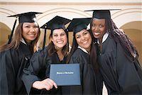 Portrait of Graduates    Stock Photo - Premium Rights-Managednull, Code: 700-00897765