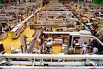 High angle view of manual workers working in a cigarette factory, Richmond, Virginia, USA Stock Photo - Premium Royalty-Free, Artist: Puzant Apkarian, Code: 625-00899072