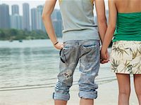Couple Holding Hands    Stock Photo - Premium Royalty-Freenull, Code: 600-00910373