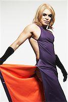 Portrait of Transvestite    Stock Photo - Premium Rights-Managednull, Code: 700-00910313