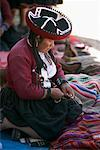 Woman at Sunday Market, Chinchero, Peru