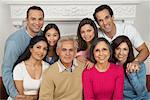 Multigenerational Family Portrait    Stock Photo - Premium Rights-Managed, Artist: Masterfile, Code: 700-00918107