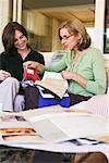 Women Looking at Fabric Swatches    Stock Photo - Premium Rights-Managed, Artist: Strauss/Curtis, Code: 700-00918453