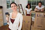 People Packing Boxes In House    Stock Photo - Premium Rights-Managed, Artist: Hiep Vu, Code: 700-00918609