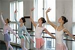 Female ballet dancers standing side-by-side Stock Photo - Premium Royalty-Free, Artist: Cusp and Flirt, Code: 628-00919347