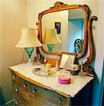 Old Dresser in Bedroom    Stock Photo - Premium Rights-Managed, Artist: Tom Collicott, Code: 700-00933624