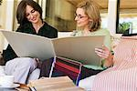 Women Looking at Fabric Swatches    Stock Photo - Premium Rights-Managed, Artist: Strauss/Curtis, Code: 700-00933675