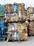 Recycled Cardboard Boxes    Stock Photo - Premium Rights-Managed, Artist: Matt Brasier, Code: 700-00934467