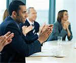 Business People in Meeting    Stock Photo - Premium Rights-Managed, Artist: Masterfile, Code: 700-00934794