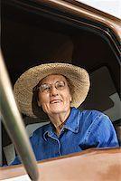 female truck driver - Woman in truck/ Stock Photo - Premium Royalty-Freenull, Code: 604-00939024