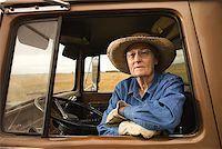 female truck driver - Woman in truck/ Stock Photo - Premium Royalty-Freenull, Code: 604-00939029