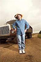 female truck driver - Woman with semi truck/ Stock Photo - Premium Royalty-Freenull, Code: 604-00939033