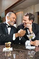 Friends at Upscale Bar/ Stock Photo - Premium Royalty-Freenull, Code: 604-00942301