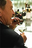 Man at Upscale Bar/ Stock Photo - Premium Royalty-Freenull, Code: 604-00942311