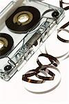 Cassette tape unraveling Stock Photo - Premium Royalty-Free, Artist: Pierre Tremblay, Code: 604-00942623