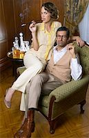 Portrait of Couple    Stock Photo - Premium Royalty-Freenull, Code: 600-00948107