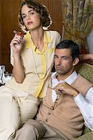 Portrait of Couple    Stock Photo - Premium Royalty-Freenull, Code: 600-00948110