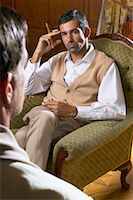 Portrait of Man    Stock Photo - Premium Royalty-Freenull, Code: 600-00948119