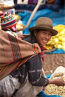 south american woman - Mother and Baby Shopping at Market, Pisac, Peru    Stock Photo - Premium Rights-Managednull, Code: 700-00948190