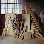 Carpenter    Stock Photo - Premium Rights-Managed, Artist: Tim Mantoani, Code: 700-00948456
