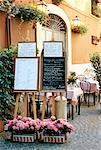 Sidewalk Cafe, Rome, Italy    Stock Photo - Premium Rights-Managed, Artist: David Papazian, Code: 700-00948794