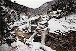 Jigokudani Onsen, Nagano, Japan    Stock Photo - Premium Rights-Managed, Artist: Jeremy Woodhouse, Code: 700-00953003