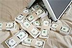 Briefcase Full of Money    Stock Photo - Premium Royalty-Free, Artist: Masterfile, Code: 600-00954720