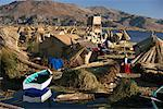 Uros Floating Islands, Lake Titicaca, Peru    Stock Photo - Premium Rights-Managed, Artist: Gail Mooney, Code: 700-00954815