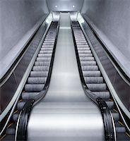 Escalators    Stock Photo - Premium Rights-Managednull, Code: 700-00955348