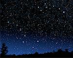 Night Sky Displaying Big Dipper, Little Dipper and North Star    Stock Photo - Premium Rights-Managed, Artist: Rick Fischer, Code: 700-00955643