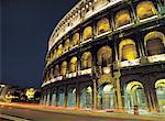 Colosseum at Night, Rome, Italy Stock Photo - Premium Royalty-Free, Artist: Siephoto, Code: 613-00960656