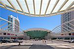 Gare do Oriente, Lisbon, Portugal    Stock Photo - Premium Royalty-Free, Artist: Graham French, Code: 600-00982870