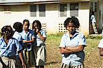 Portrait of Children by School, Dominican Republic
