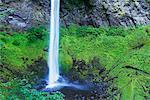 Elowah Falls, Columbia River Gorge National Scenic Area, Oregon, USA