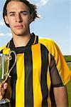 Portrait of Soccer Champion    Stock Photo - Premium Royalty-Free, Artist: Masterfile, Code: 600-00984033