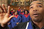 Gospel Choir and Minister