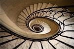 Spiral Staircase Stock Photo - Premium Royalty-Free, Artist: Philip Rostron, Code: 621-00995030