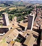 Medieval San Gimignano, Italy Stock Photo - Premium Royalty-Free, Artist: IS2                           , Code: 621-01005080