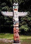 Totem Pole in Vancouver, Canada Stock Photo - Premium Royalty-Free, Artist: Bill Brooks, Code: 621-01005088