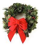 Christmas Wreath Stock Photo - Premium Royalty-Freenull, Code: 621-01005911