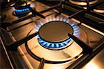Gas Burner Stock Photo - Premium Royalty-Free, Artist: Daniel Barillot, Code: 621-01010502